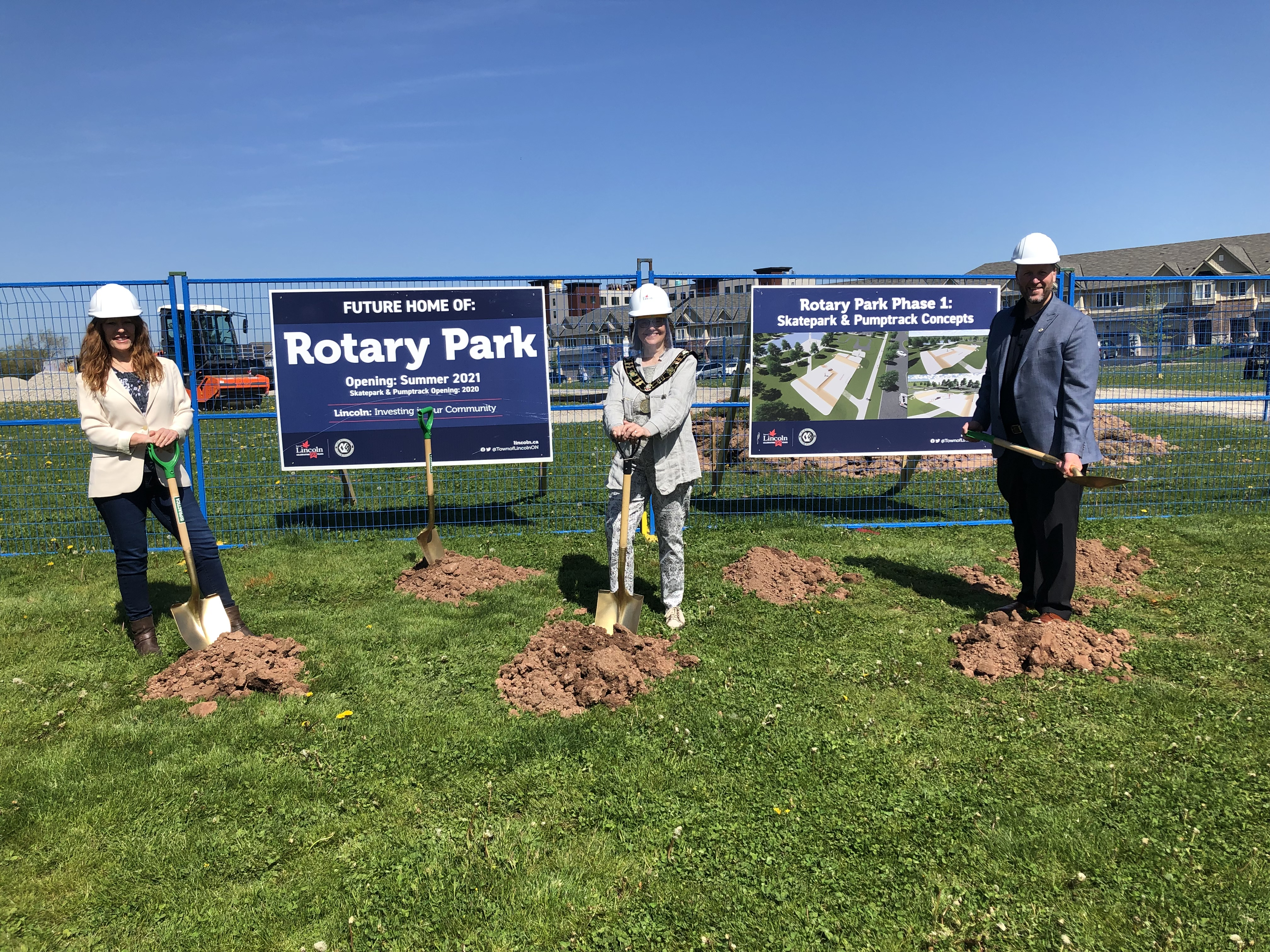 Image of the Rotary Park Groundbreaking