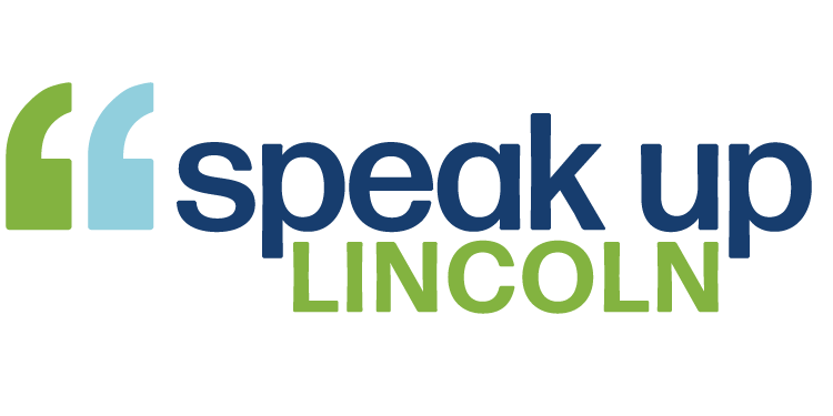 Speak Up Lincoln logo