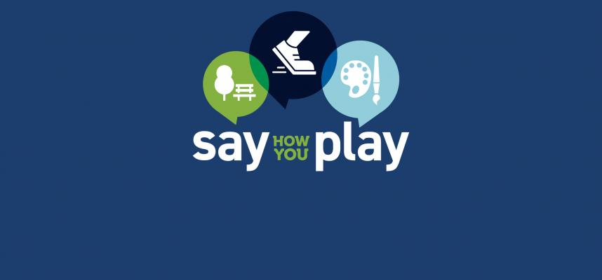 banner promoting the say how you play initiative