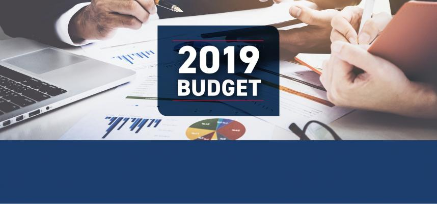 web banner linking to budget page