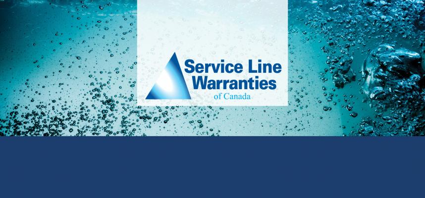 Image promoting the service line warranty program
