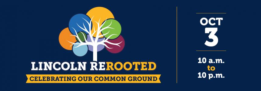 Feature image: Save the date for Lincoln ReRooted - Oct. 3, 2020