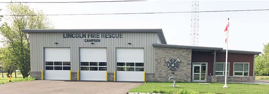 image of new campden fire station