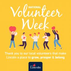 We celebrate and thank volunteers that support our community during National Volunteer Week.