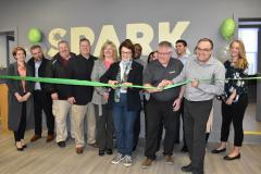 image of ribbon cutting at SPARK Lincoln