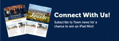 banner image promoting subscribing to two digital newsletter and a chance to enter a draw until Oct. 1. Information is on the page.