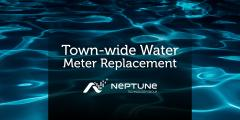 "Image that reads ""water meter replacement"""