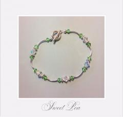 Photo of sweet pea braclet project