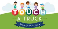 image promoting Touch a Truck on June 2, 2018